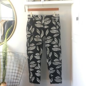 Anthropologie Cartonnier Tropical Charlie Trouser